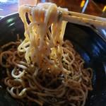 本町ケンボロー - 油ねぎそば(太麺) 麺リフト
