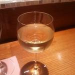 開晴亭 - グラスワイン 白