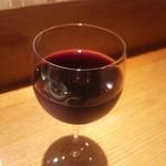 開晴亭 - グラスワイン 赤