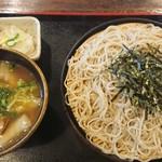 てっぺん - つけけんちん蕎麦w