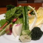 10947457 - バーニャカウダ (野菜)