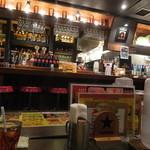 鉄串BBQ肉ロック70'S カンダーラ - 店内