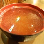 鉄串BBQ肉ロック70'S カンダーラ - セットのスープ この日は玉葱のスープ