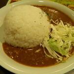 鉄串BBQ肉ロック70'S カンダーラ - ヤーミーカレー(大盛)
