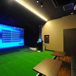 ASSO - ブース席 本格派シュミレーション機で世界のゴルフ場をラウンドできます