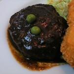 大手橋食堂 - ハンバーグ