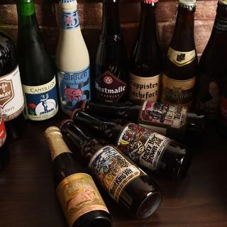厳選されたクラフトビール&ベルギービール
