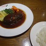 レストラン マリオ - 料理写真:ハンバーグステーキ