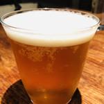トラットリア・ピアノ - SVB(スプリングバレーブルワリー)のフラッグシップビール。エールのような豊潤さとラガーのようなキレ、IPAのように濃密なホップ感がウリ☆彡