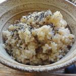 アサンテ・サーナ - 雑穀ご飯大盛り+60円