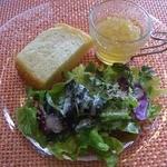 10948544 - サラダ、スープ(ランチ)