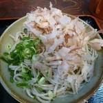 佐佳枝亭 - おろしそば ¥550