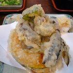 佐佳枝亭 - 野菜天ぷら ¥250