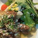 SQUARE MEALS みなもと - やわらか豚肉のしょうが焼き(900円)