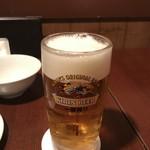 鉄板素材 - 生ビール
