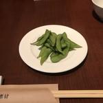 鉄板素材 - 枝豆