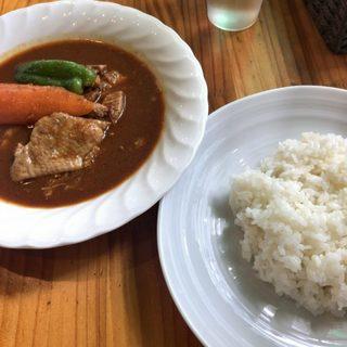 スープカレー カムイ - 料理写真:「チキンカレー」850円