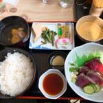 末廣屋 - タタキ定食