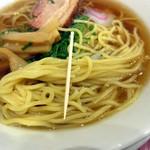 大阪王将 - 麺の細さ