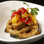 ココキュール - 焼き野菜とキノコのバルサミコマリネ