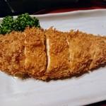 お好み焼き文字平 - 伊達鶏のチーズカツ