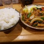 とん八 - 南蛮焼き750円+ライス大盛300円!