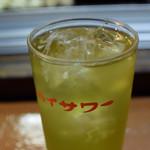 山根商店 - 緑茶ハイ 220円