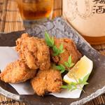 個室 焼き鳥居酒屋 くしみつ - 料理写真:若鶏の唐揚げ