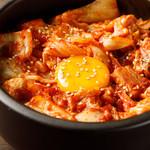 個室 焼き鳥居酒屋 くしみつ - 料理写真:豚キムチ丼