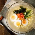 個室 焼き鳥居酒屋 くしみつ - 料理写真:冷麺