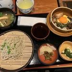 亀甲堂 - 釜飯定食