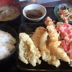 109497960 - 天ぷら大吉の定食「松定食」