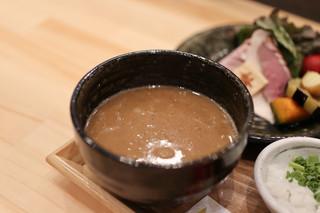 麺家 幸先坂 - つけ汁☆
