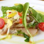 波平キッチン - 本日のおすすめ「炙りサワラとルッコラのマリネ」