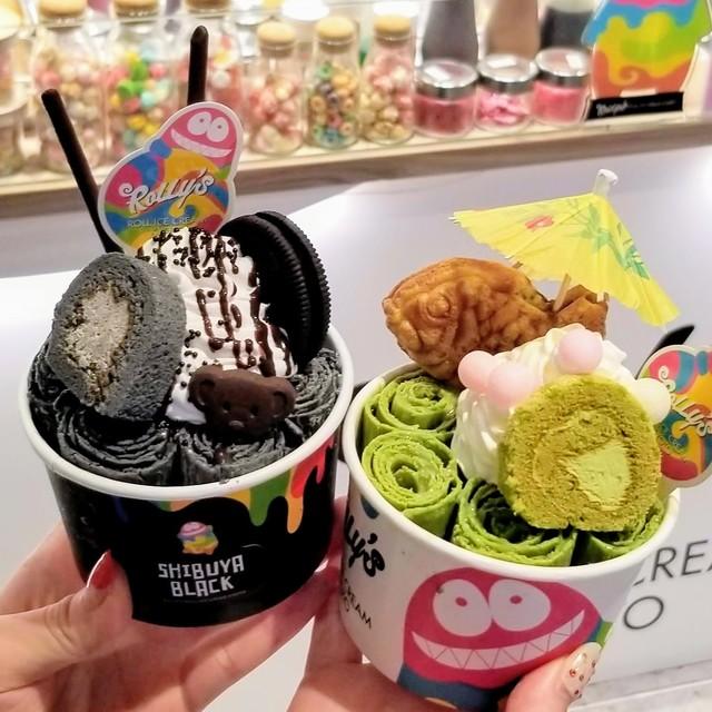 ローリーズ ロール アイスクリーム キョウト 渋谷モディ店