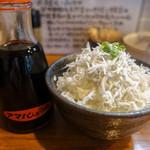 麺処 びぎ屋 - しらすご飯