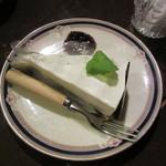 ぺしゃわーる - チーズケーキ 530円