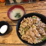 伝説のすた丼屋 - すた丼(630円)【令和元年06月11日撮影】