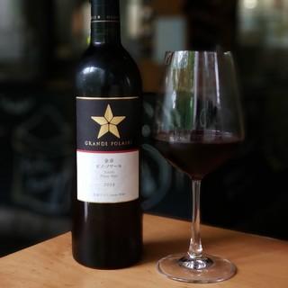 北海道産葡萄の日本ワインが人気!自社グループワイナリーが自慢
