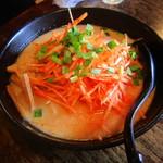 10951966 - ねぎ味噌麺(辛ねぎトッピング)