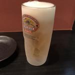 109511251 - 冷えたビールは美味い!