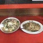 来々軒 - 料理写真:チャンポンセット