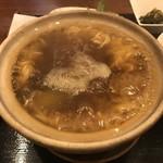 元祖コラーゲンスープ よしなり - 濃厚フカヒレ麺