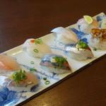 お魚亭 - 料理写真:おまかせ鮨