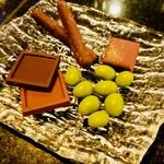 チョコレート盛り