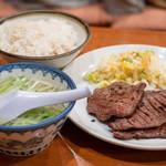 旨味太助 - 2019.6 牛たん定食C(六枚 2,200円)