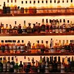 BAR 新宿ウイスキーサロン - バックバー