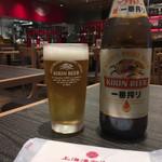上海湯包小館 - ビール
