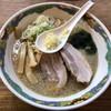 特麺コツ一丁ラーメン - 料理写真:ラーメン 麺半分アブラ多め 700円 ニンニクあり