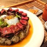 まかない家 matsu - カルデラ丼♪ミネストローネも美味♪(^^)d